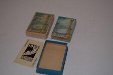Vintage 1933-34 Chicago World's Fair Deck of Cards - Sky-Ride - EX