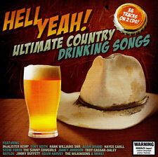 HELL YEAH - ULTIMATE COUNTRY DRINKING SONGS / VARIOUS ARTISTS - new 2 CD SET