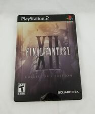 Final Fantasy XII Collector's Edition Ps2 PlayStation 2 with Demo Disc Free Ship