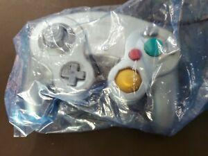 New Platinum Silver OEM Official Genuine Nintendo Gamecube Controller