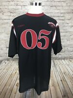 FUBU XC 11 Athletic Men's XL Red Black Football Jersey 05