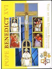 2010 Sierra Leone 5419-5422 Papst Benedikt postfrisch (MNH)