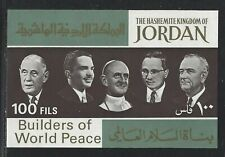 1967 Jordan Scott #534K - Builder of World Peace Souvenir Sheet - MNH