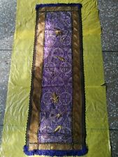 Antique Trukish Handmade Table Cloth Almost 100 Years Old