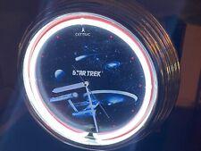 "STAR TREK ENTERPRISE Neon Clock 15""x15"""