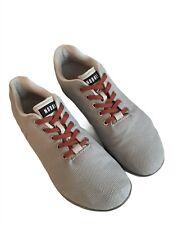 NoBull unisex cool grey lightweight trainer shoes size 13 men's, 14.5 women's