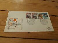 netherlands 1st day stamp cover 1975 amsterdam leidse unniv portugese synagoge