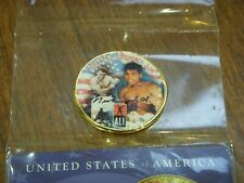 1976 MUHAMMAD ALI 24K Gold Plated IKE Dollar *Each Coin Serial Numbered of 376*