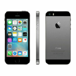 Cheap Apple iPhone 5s 16GB  Grey Factory Unlocked 4G Smartphone Very Good