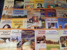 Senderos Spanish Houghton Mifflin Harcourt 5th  Grade 5 On Level Reader 25 Books