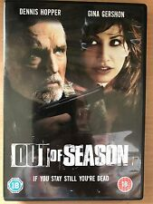 Dennis Hopper Gina Gershon OUT OF SEASON ~ 2004 Crime Thriller | UK Retail DVD