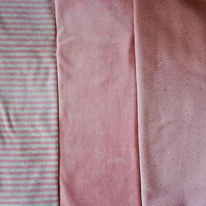 Nicki/Stepper Paket, rosa, Streifen, Uni, 3 x 0,8m