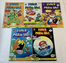1991 Valiant SUPER MARIO BROS V.2 comics #1 2 3 4 5 ~ FULL SET