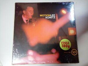Disco Vinile 180g Motion Lee Konitz Jazz 33 Giri Nuovo