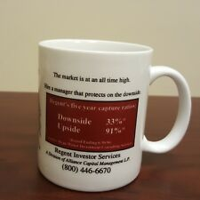 1996 Consultants Forum  Regent Investor Services Coffee Mug Market Ratio