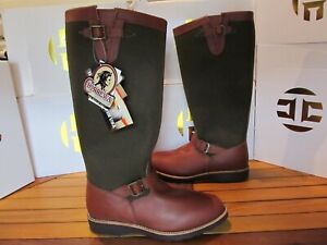 Chippewa Descaro Snake Boots Buckle VIPER CLOTH Leather 11 23913 Hunting Fishing