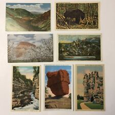 Lot of 6 Unposted Vintage Landscape Mountain Scene Postcards