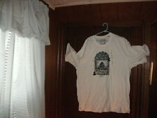 Timberland t-shirt white short sleeve nature & city & ducks size 3XL/3TG HUGE!!!