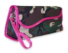 Camo Camouflage Flat Iron Curling Travel Case Pouch Insulated Thermal
