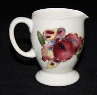 Moorcroft ORCHIDS Creamer on White or Cream, HEMSLEY'S Montreal
