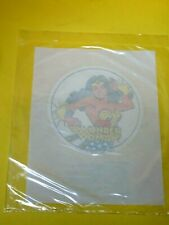 "Vintage 1982 Dc Comics Super RARE Iron On Sealed in Baggie 3"" Wonder Woman"