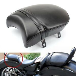 Black Rear Passenger Pillion Pad Seat For Victory Kingpin 8 Ball Vegas Jackpot