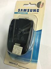 Samsung SGH-E700 Holster Charger with Battery in Black BCH205HKE Br/New Original