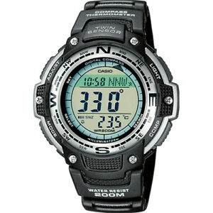 Casio PRO TREK Men's Watch SGW-100-1VEF Compass Tough Sport