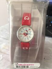 Montre Hello Kitty Fille Cuir Rouge HELLO KITTY