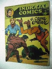 PHIL CORRIGAN A CRIME EMPIRE  VOL 22 NO 26  INDRAJAL Rare Comic ENGLISH  India