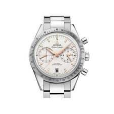 Stainless Steel Strap Adult Omega Speedmaster Wristwatches