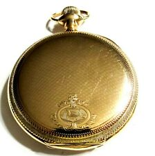 975 -14Kgf - Ls Hunters Pocket Watch (F4) Fantastic - 16S - 1911 - 17J- Hamilton
