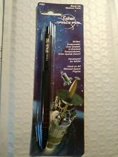 Space-Tec Black Fisher Space Pen on blister card-SST