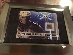 Jason X Friday the 13th Movie Prop- Jason Jacket Piece Screen Used Neca Ultimate