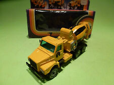 SIKU 2817 VOLVO TRUCK CEMENT MIXER - 1:55 - RARE SELTEN - GOOD CONDITION IN BOX