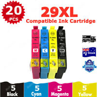 20x Non-OEM 29xl Ink Cartridges for Epson expression home xp432 xp435 xp245