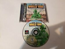 Army Men World War Playstation 1 PS1 Sony Tested & Great, FREE SHIPPING