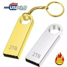 2TB USB 3.0 Flash Drives Metal Portable Memory Stick U Disk Storage Silver