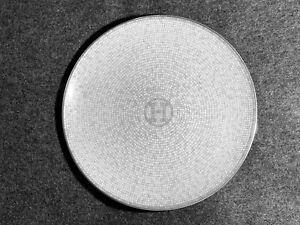 Hermes MOSAIQUE AU 24 Platinum Round Plate