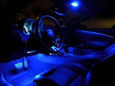 2x 41mm blue led 8smd dome interior light festoon fit most cars