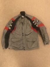 Red / Black / Grey  BMW Rallye Suit size 58 UK SHIPPING ONLY.