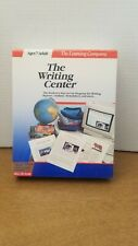 New NOS The Learning Company The Writing Center Program for MAC