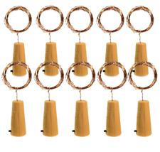 Led korken Lichterkette Flaschenkorken mit 10 Warmweiß oder Weißen LED 94cm