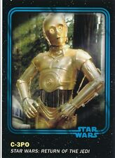 #5 C-3PO 2016 Topps Star Wars Trader Physical card w/UNUSED CODE BLUE
