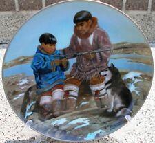 Kaiser Nori Peter Siberian Husky Puppy Dog Inuit Odark and Son Samik Plate + Box