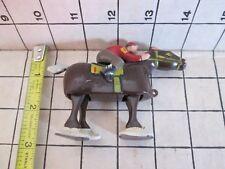 Marx Horse + Jockey Ramp Walker Toys. #1 , #3 , # 6. Circa 1950'S