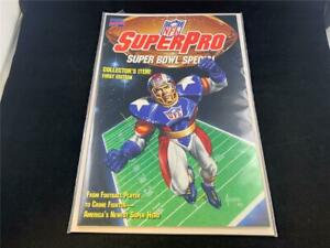 1991 MARVEL COMICS NFL SUPERPRO SUPER BOWL SPECIAL 1ST EDITION