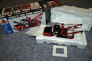 1999 Gearbox Toys 1953  F-100 'CITGO' Tow Truck Ford Limited Edition Coin Bank