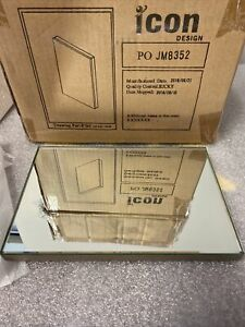 "CASE OF 10 STORE DISPLAY QUALITY 6"" X 9"" MIRROR WITH REMOVABLE HANGER"