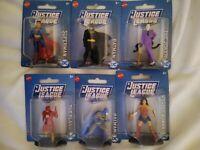 Lot Of 6 DC Justice League Figures: Batman, flash, Joker, Superman, Wonder Woman